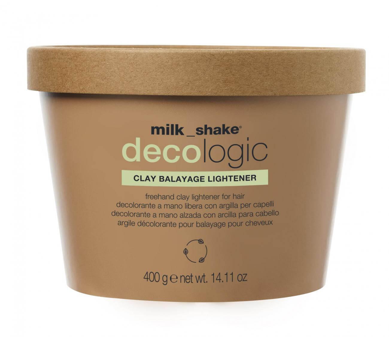 milk_shake DECOLOGIC ОСВЕТЛЯЮЩАЯ ГЛИНА ДЛЯ ВОЛОС 400 гр